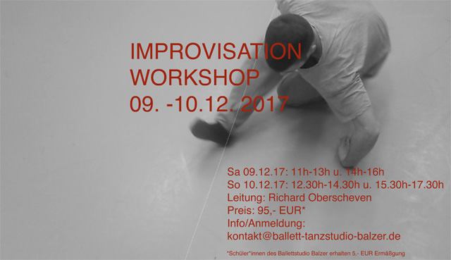 Workshop Improvisation - 09.12.-10.12.17